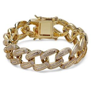 Other - Gold Bugatti Cuban Link Bracelet